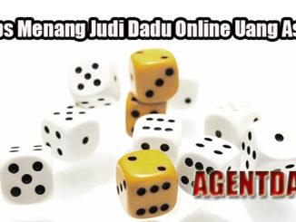 Tips Menang Judi Dadu Online Uang Asli